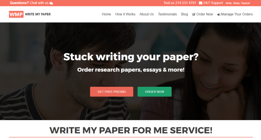 College paper writing service reviews quizlet