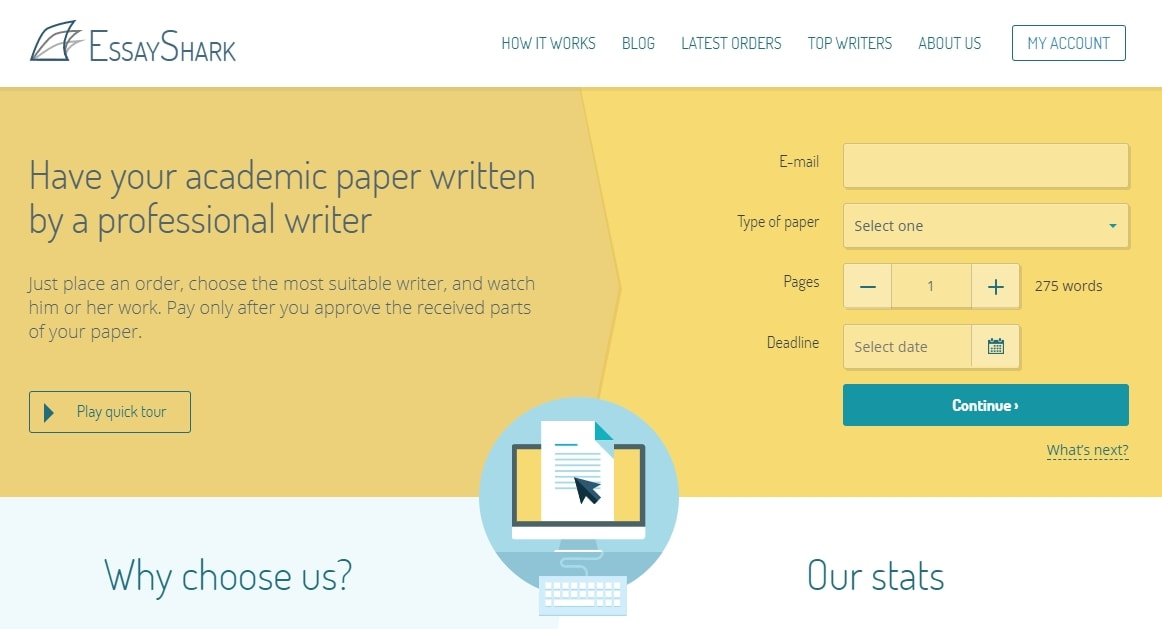 EssayShark.com Review - College Paper Writing Service Reviews