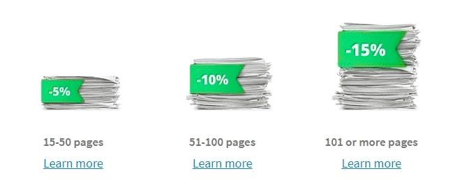 XpertWriters.com Discounts