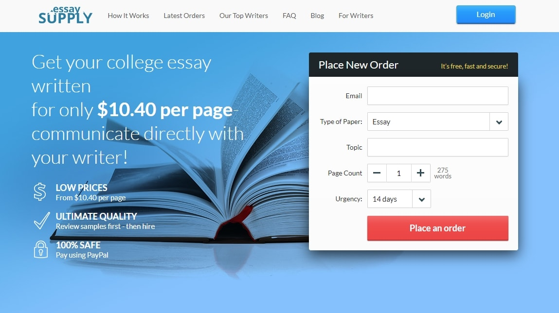 College paper writing service reviews